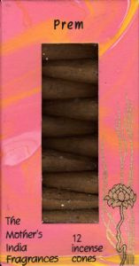 Prem: The Mother's India Fragrances Incense 12 Cones